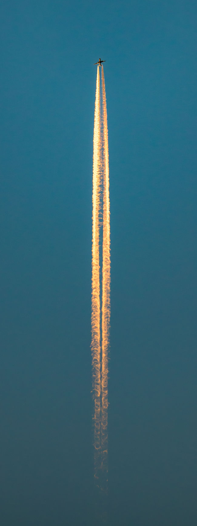 October 2 Year Of Photography 2015 Planes Chemtrails Transport Flying Constantin Brancusi Morning Light Launch Jet Golden Hour Need For Speed