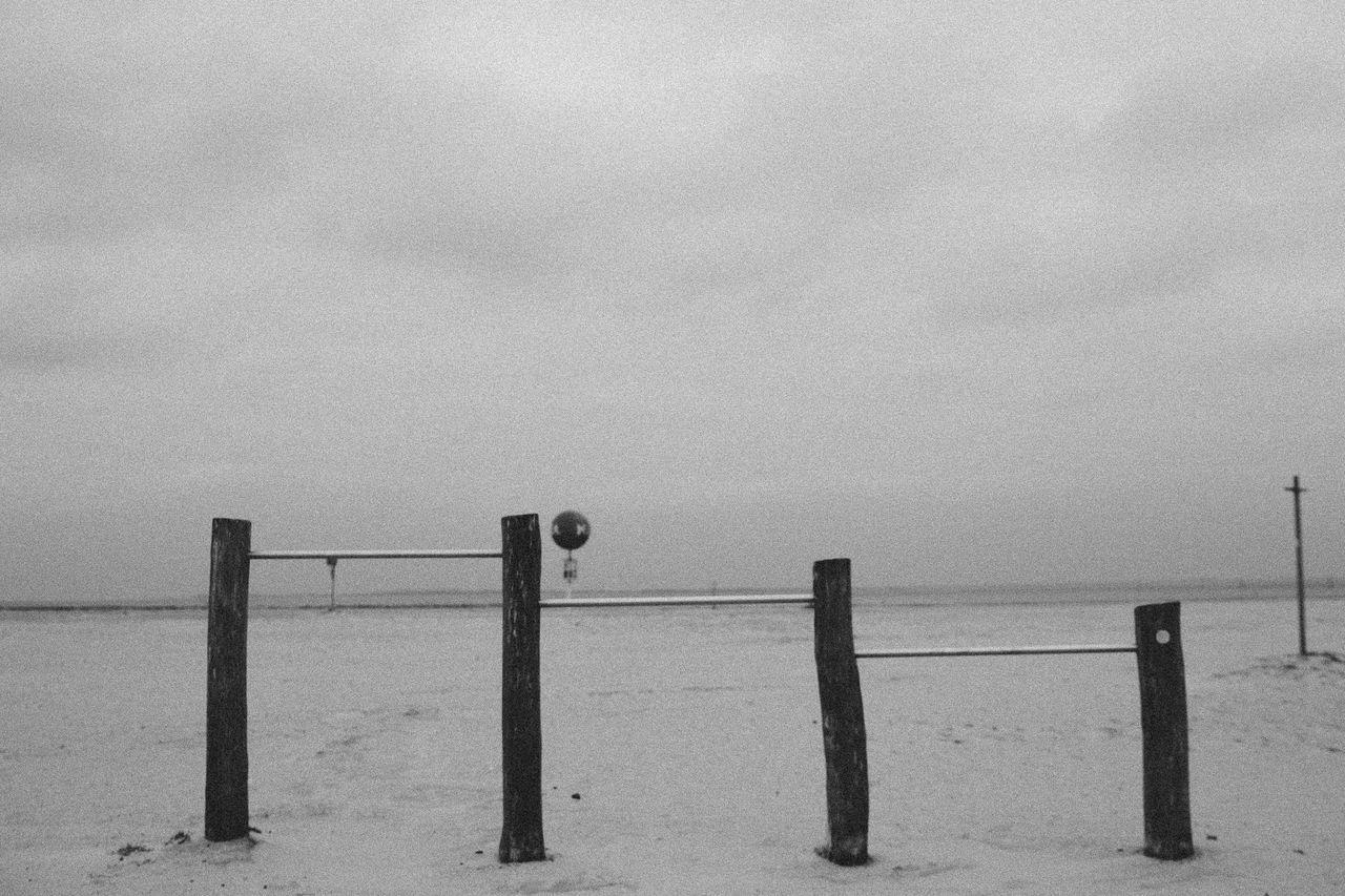 Beach Blackandwhite Bnw Horizon Over Water Nature No People Northsea Outdoors Playground Sea Sky Water First Eyeem Photo