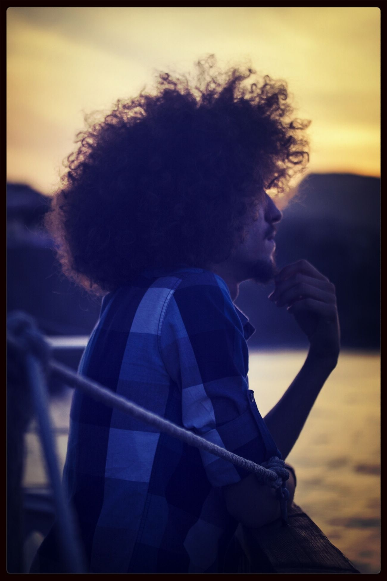 That's Me Sunset Fineart Enjoying Life