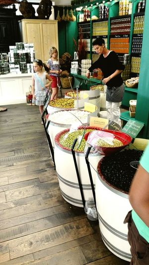 Olives Vinigarette Tapenade Colorfood