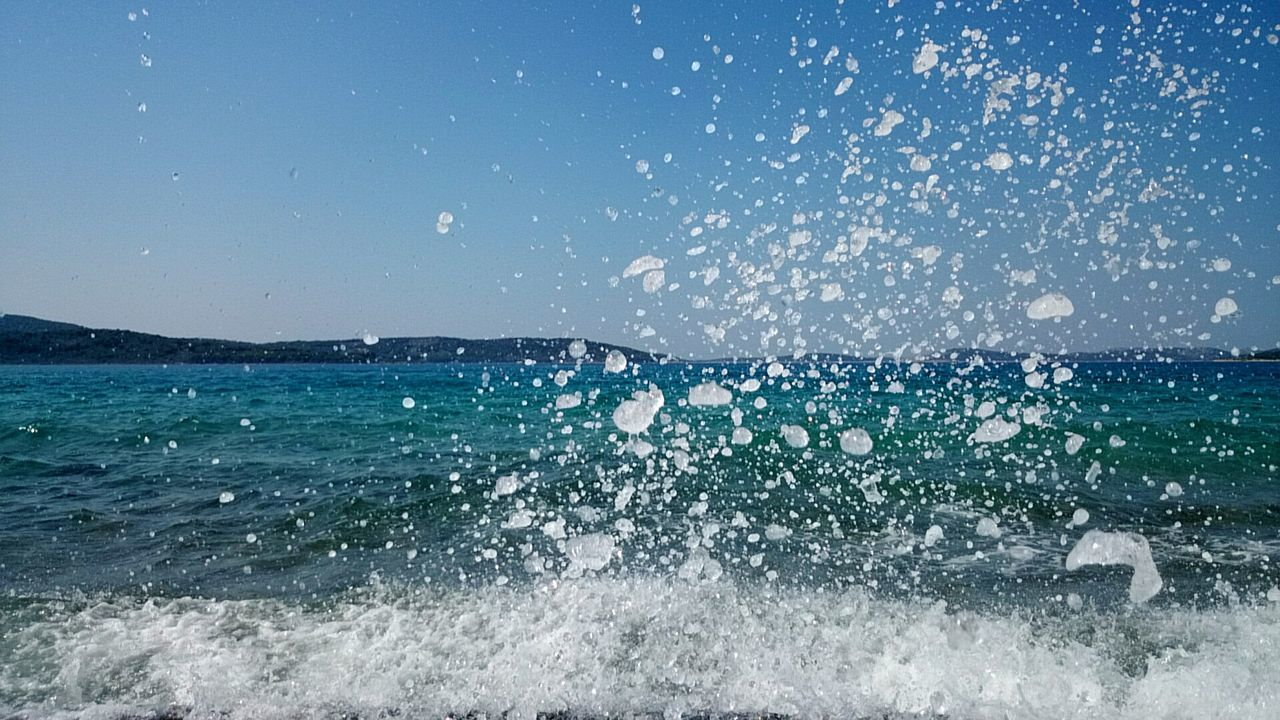 Catching the waves... Sonyxperiaz1 Croatia Capture The Moment Drops Of Water Beautiful Nature Cellphone Photography Nature Summer Catching Waves Sea Waves Waves Crashing Waves, Ocean, Nature Power Of The Sea Power Of Nature Sea And Sky Water Droplets Water Drops Capturing Movement Stop Motion Blue Wave