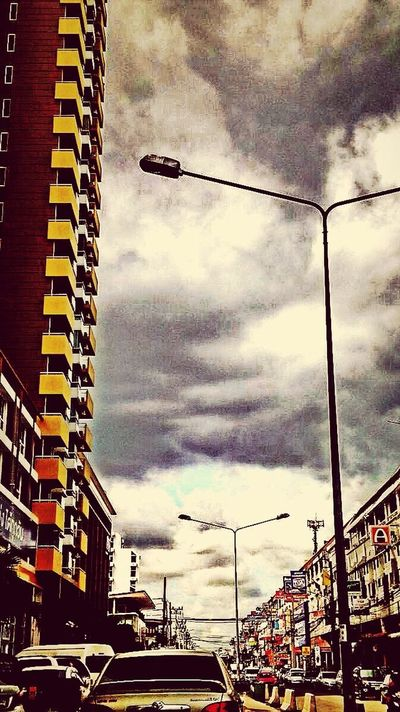 City Clouds And Sky Just Talking