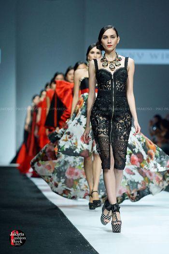 Runway Fashion Fashionshow JFW 2015 FashionRunway