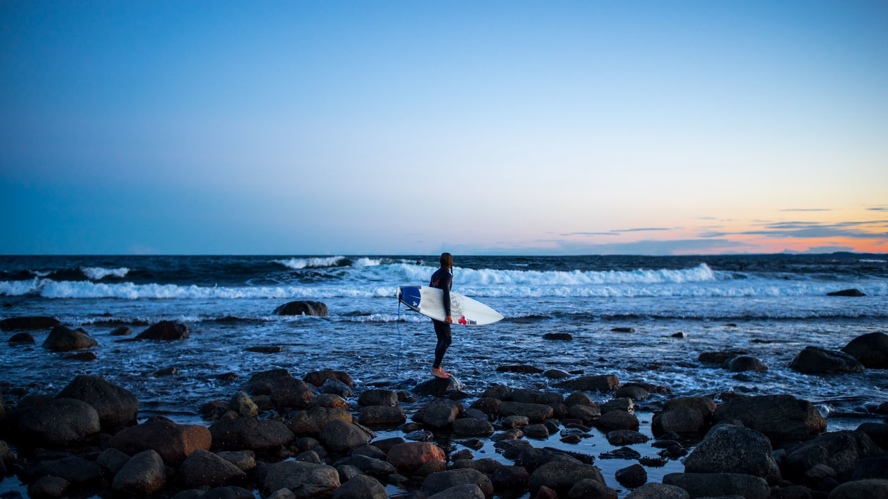 Good night Blue Hour F2 Horizon Over Water Nature Norway Scenics Sea Sky Surf Surfboard Surfing Swell Vacations Vestfold, Norway Vintagelens Waves Live For The Story