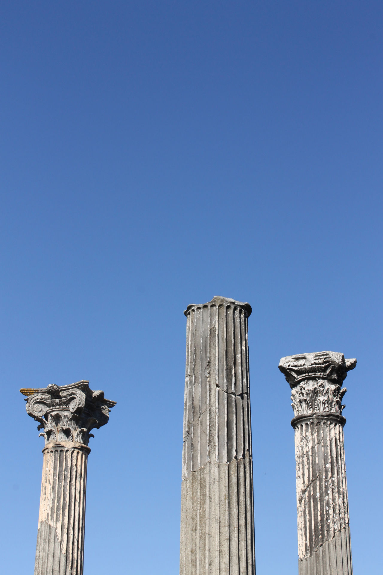 Three of us Ancient Ancient Architecture Ancient Roman Ancient Rome Ancient Ruins Architectural Column Architecture Architecturelovers Architecturephotography Architectureporn Clear Sky Day Daylight Daylight Photography History History Architecture Italy No People Outdoors Ruins Ruins Architecture Skyphotography Skyporn Tivoli Villa Adriana