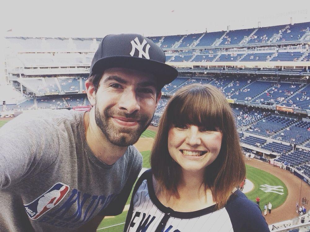 Let's go Yankees Baseball Home Run Hello Yankee Stadium