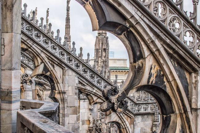 Duomo Milan Milano Duomo Di Milano Tourism Outdoors Canon70d Canonphotography Canon EyeEm Best Shots Market Travel Destinations Architecture Building Exterior Place Of Worship Travel City Cultures Built Structure Religion Gothic Style Sculpture No People Day Horizontal Statue