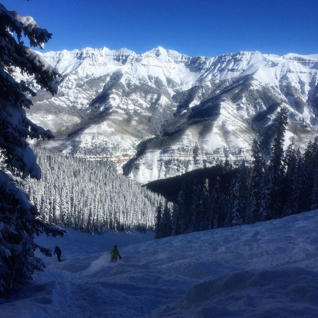 First Eyeem Photo Ski Snowboarding Snow ❄ Telluride Colorado Mountains Outdoor Photography Mountain Range Outdoors