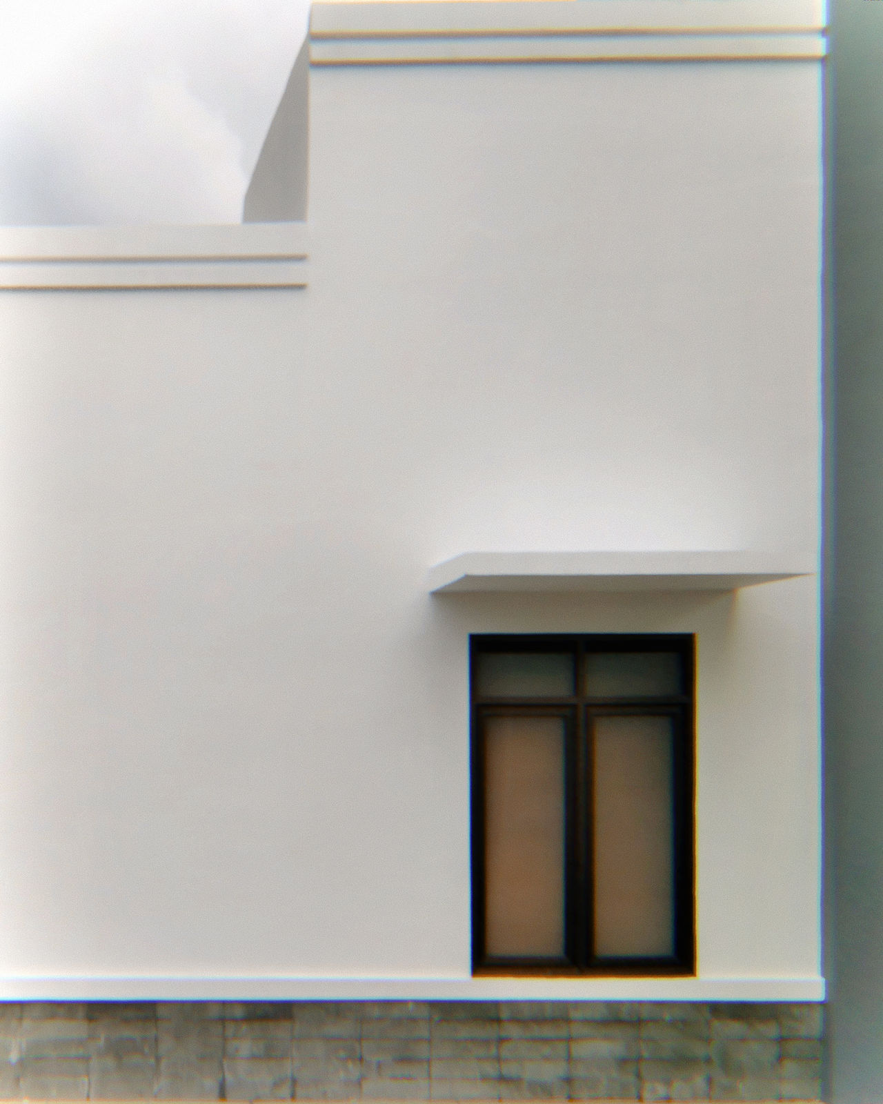 Lone window. Built Structure Architecture Close-up Outdoors