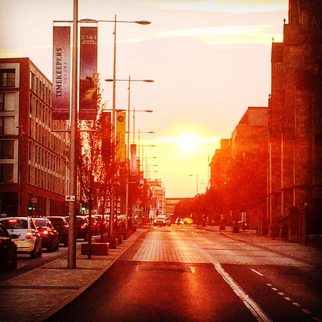 Chapelstreet Salford Sunset Urbanstreet