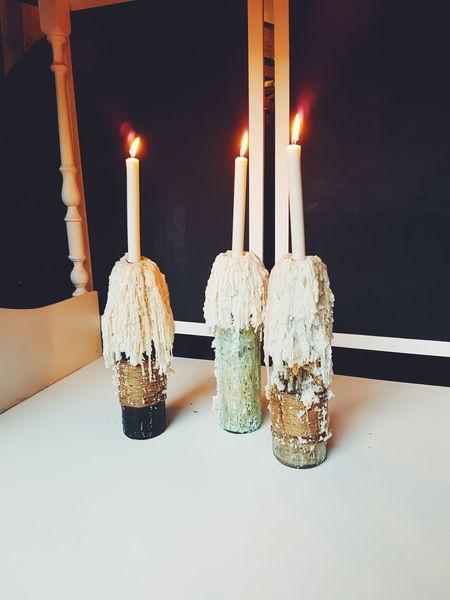 Candle beuty. Candle Burning Flame Illuminated Lighting Equipment