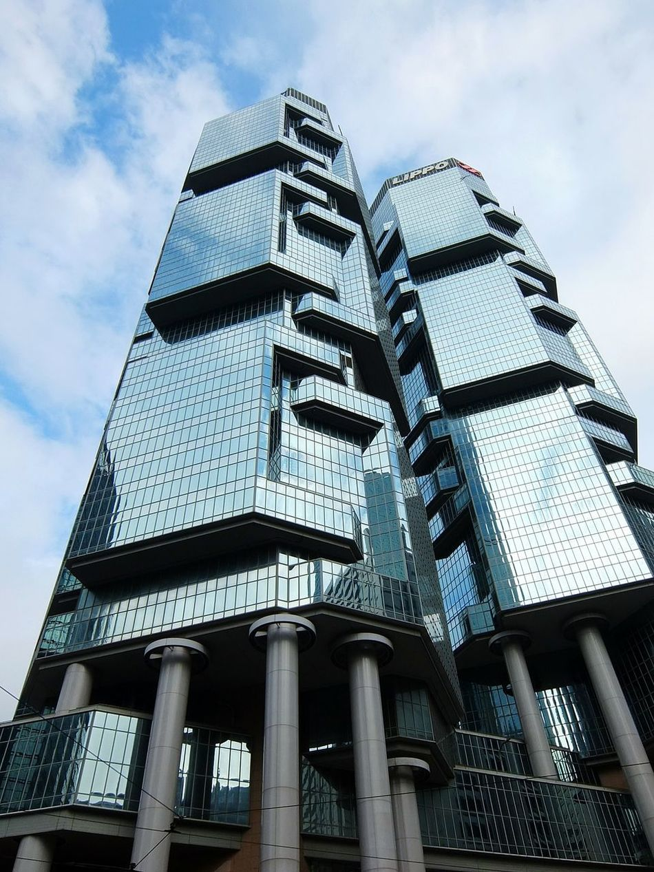 One of my favorite Buildings in Hong Kong . Big City Architecture Architecture_collection Tall Buildings Skyscrapers Seeing The World