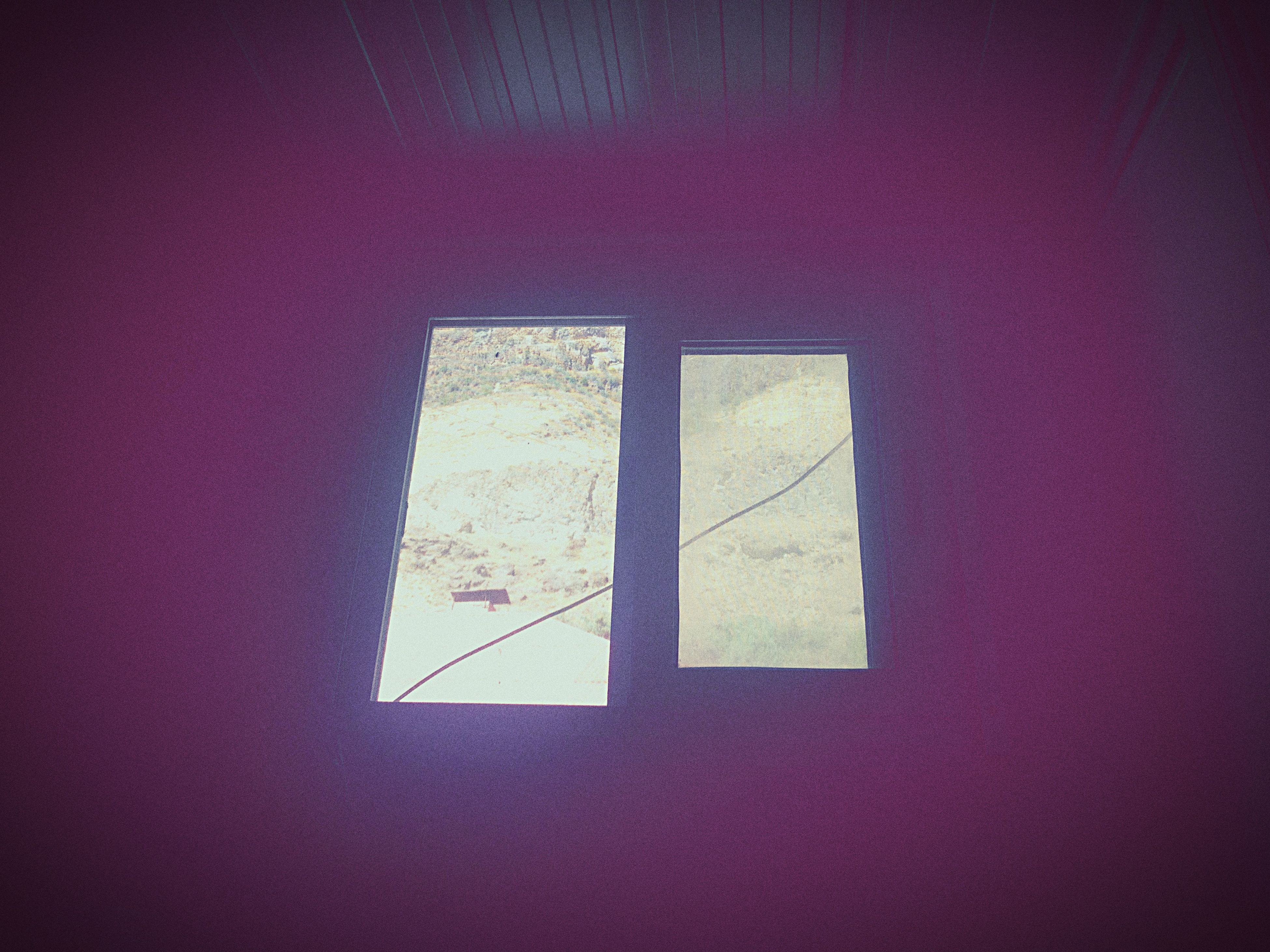 indoors, wall - building feature, architecture, built structure, wall, shadow, window, copy space, paper, no people, home interior, red, close-up, still life, high angle view, table, sunlight, house, day, geometric shape