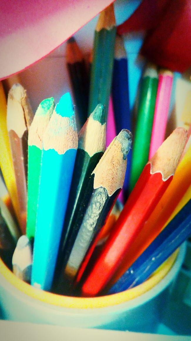 Colors Pencilart Colorful Love Drawing ❤