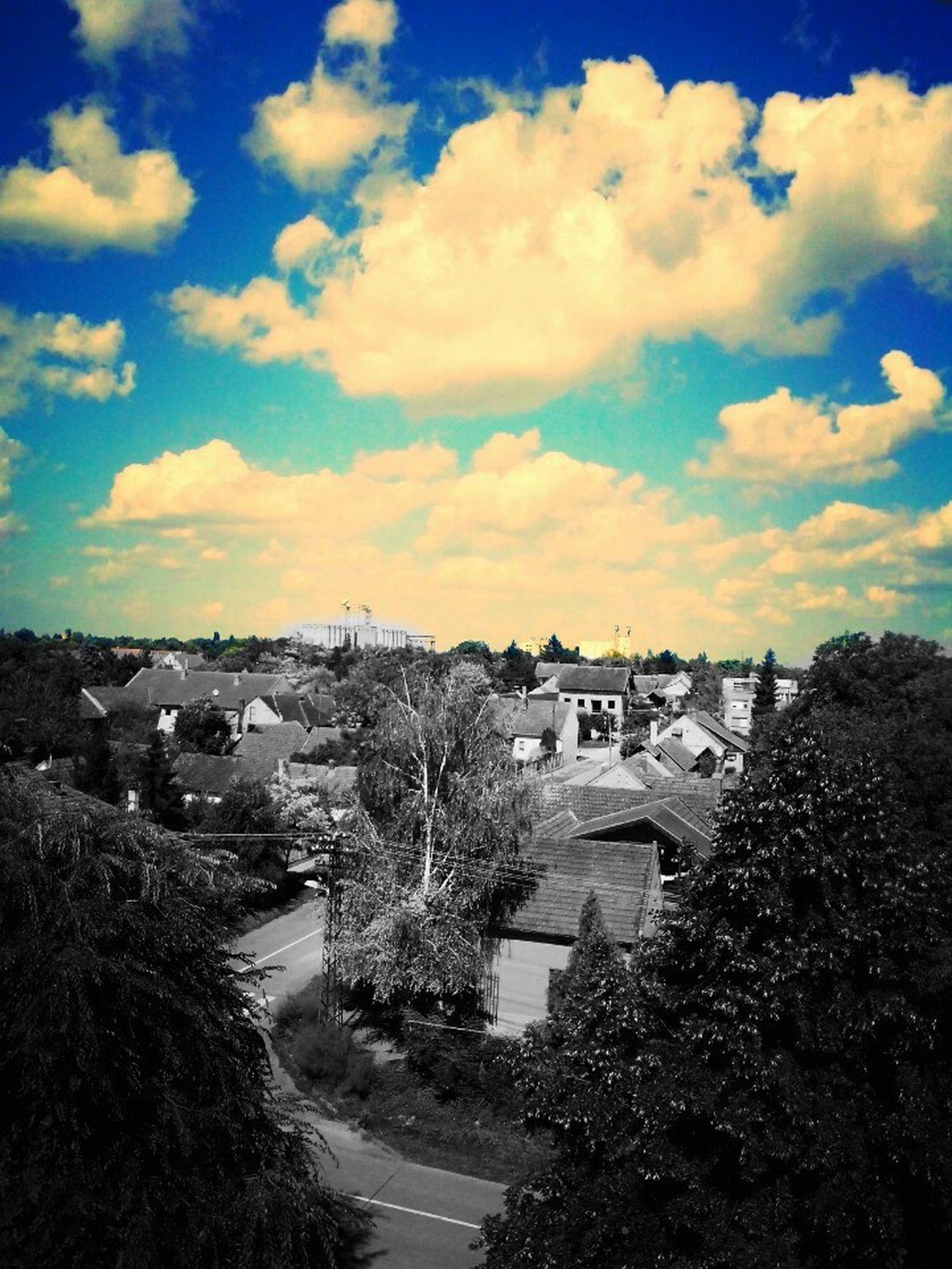 Blue Blue Sky Theblueoneisthebest Town