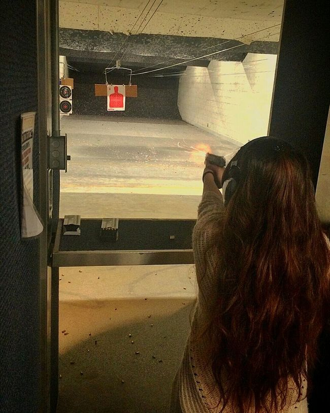 Girls With Guns Girls With Guns❤ Shooting Range  My Relaxing Time  SiLvIElements