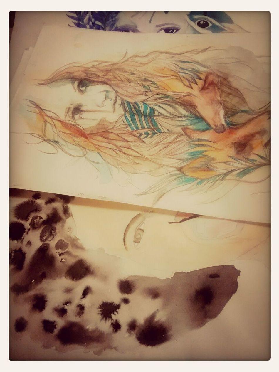 forever leaving art coursework untill the last minute Art Artistic Portrait Carnegriffiths