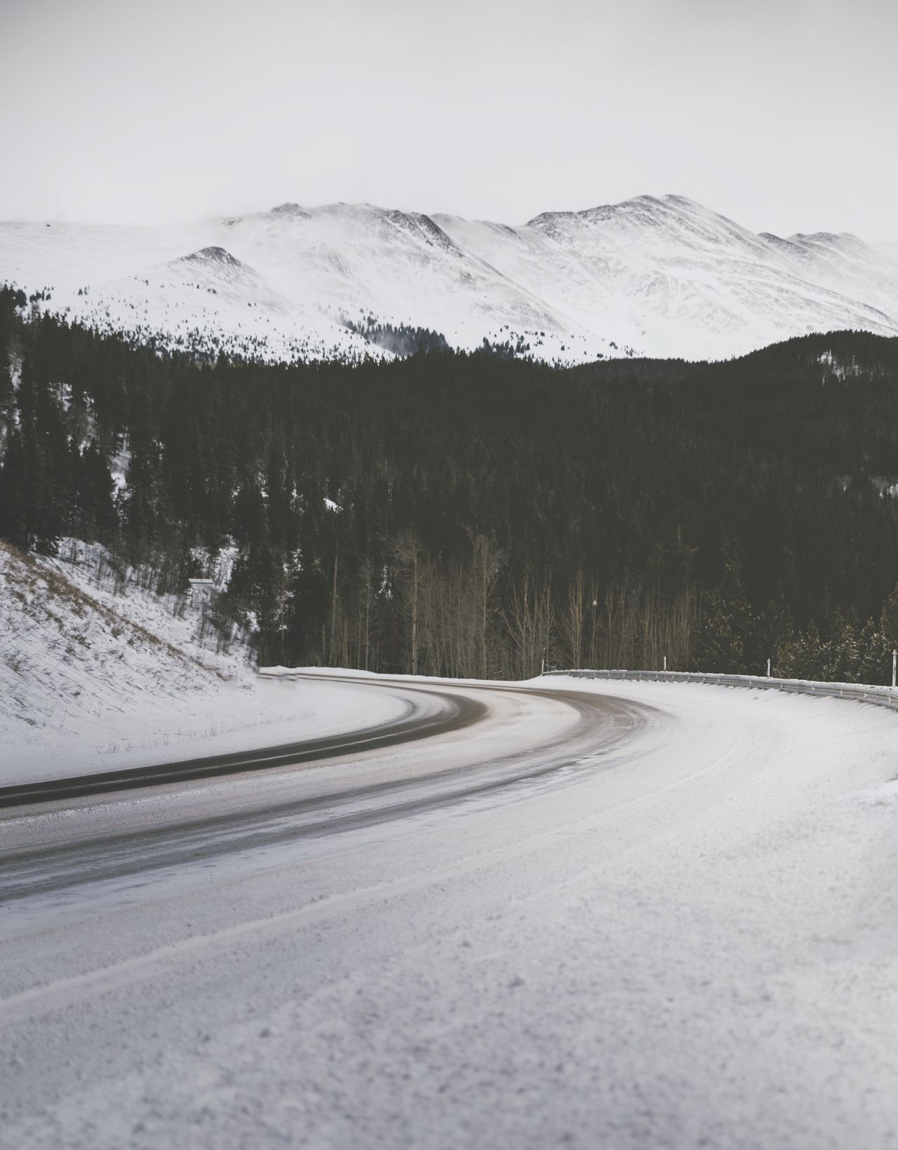 Snow Winter Cold Temperature Nature Mountain Landscape Outdoors Beauty In Nature Road Scenics No People Day Tree Sky