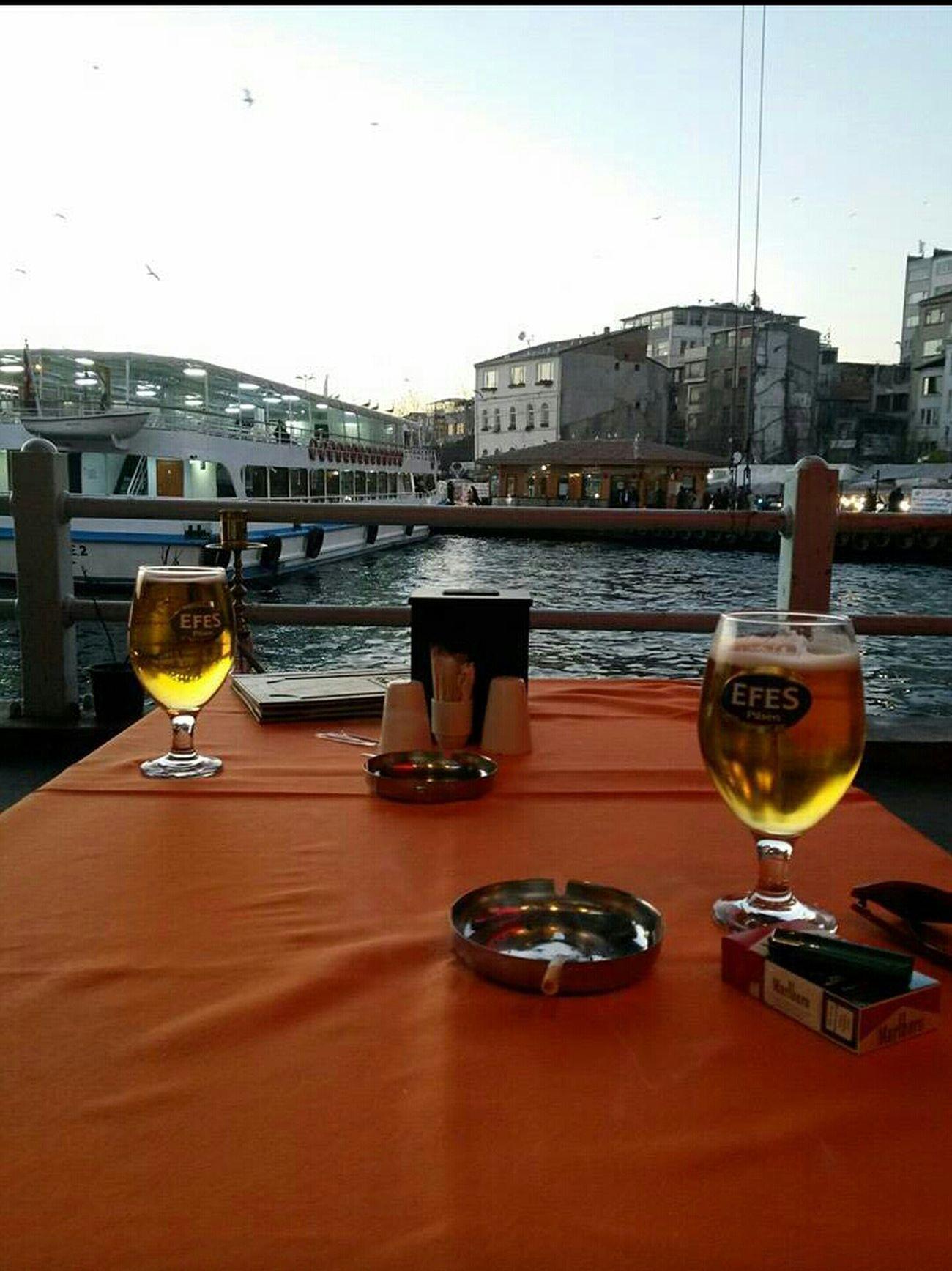 Drinks Efes Pilsen Enjoying Life Taking Photos