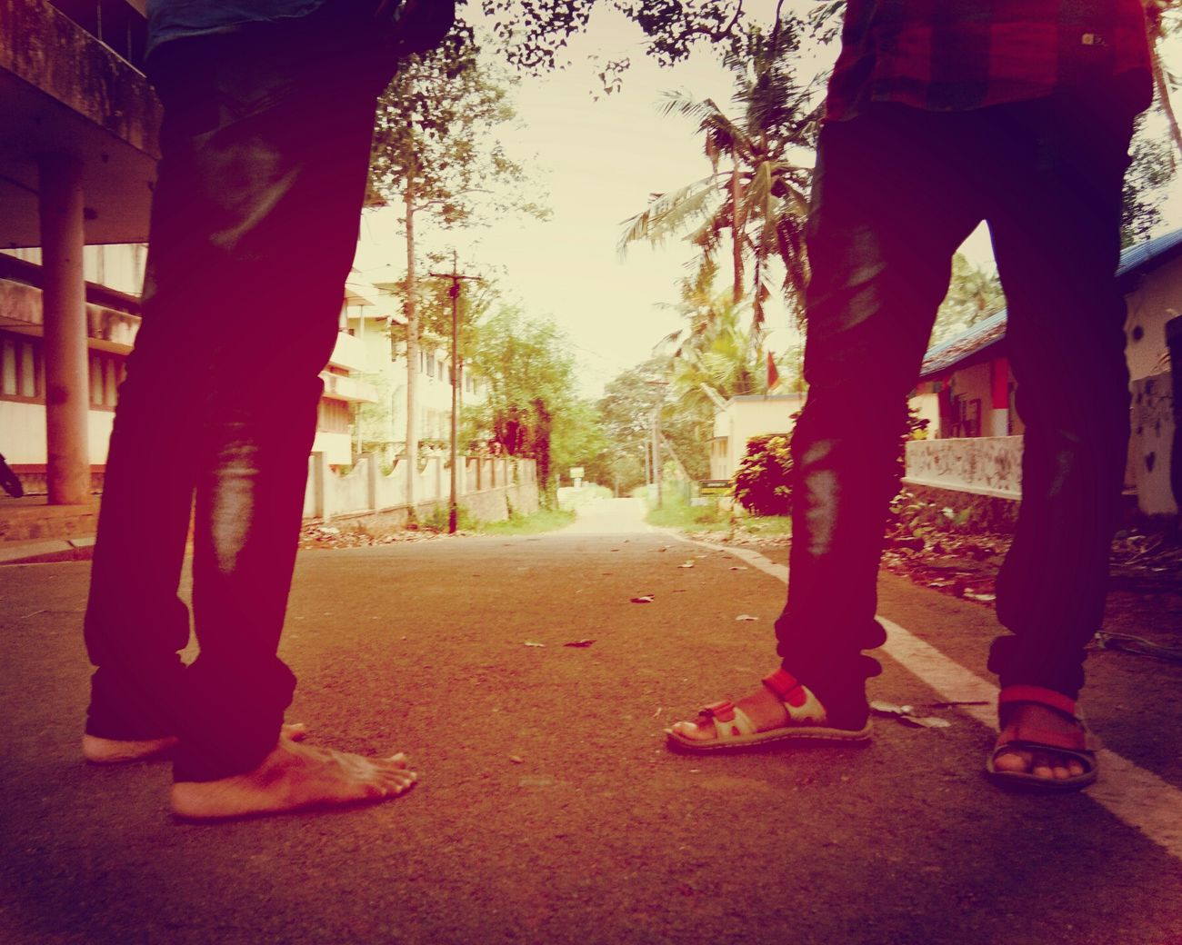 Life Paths People Journey - Evening Human Foot Human Body Part