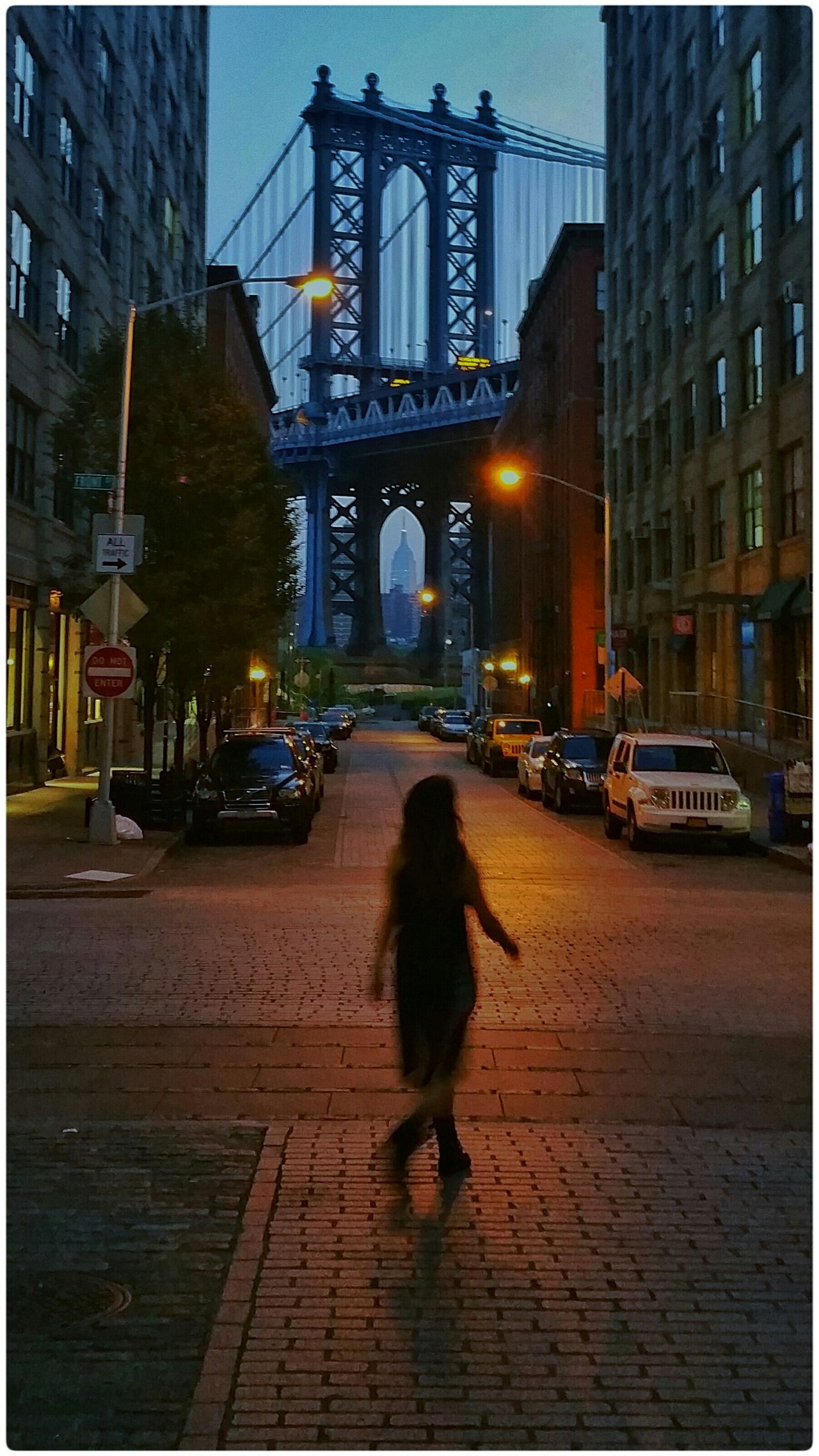 In the Wee Hours of the Morning NYC Manhattan Bridge EyeEm Best Shots The Best Of New York Open Edit Dawn SNAPp Empire State Building Day Break