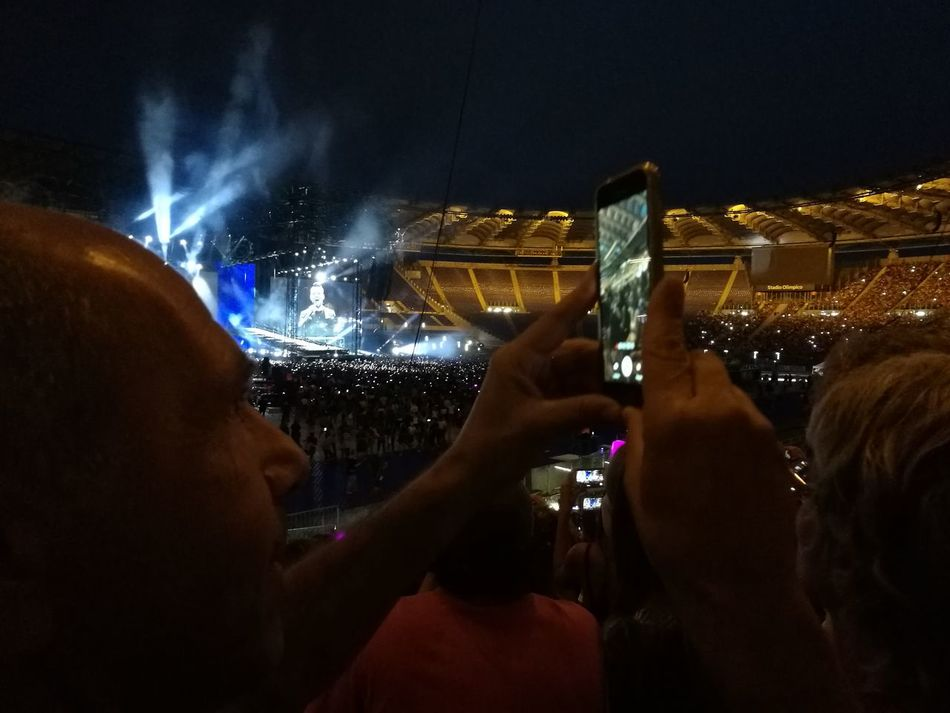 Tiziano Ferro Tour 2017 Stadio Olimpico 30/Giugno/2017 The Purist (no Edit, No Filter) Stage - Performance Space Arts Culture And Entertainment Color Photography Human Hand Photographing People Crowd Adult Popular Music Concert Human Body Part Portable Information Device Night Alcohol Wireless Technology Illuminated Nightlife Photo Messaging Adults Only Music Indoors  Only Men Capture The Moment