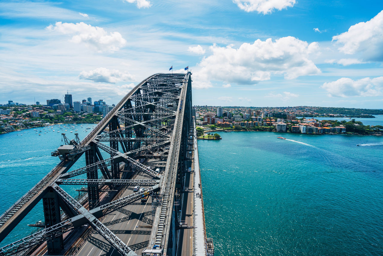 Beautiful stock photos of sydney, Architecture, Australia, Beauty In Nature, Bridge - Man Made Structure