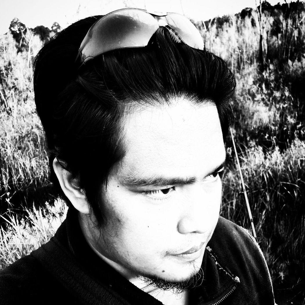 Selfie Selfportrait Pahang Blackandwhite