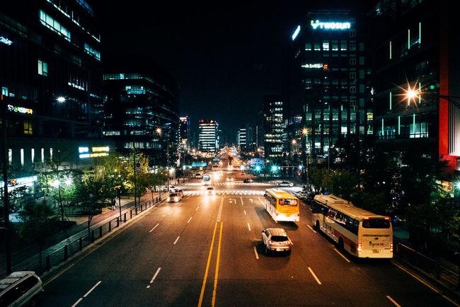 Nightphotography Night Lights Nightlife Nightinthecity On The Road Snapshot Voigtländer Colorskopar 21mm EyeEm Korea