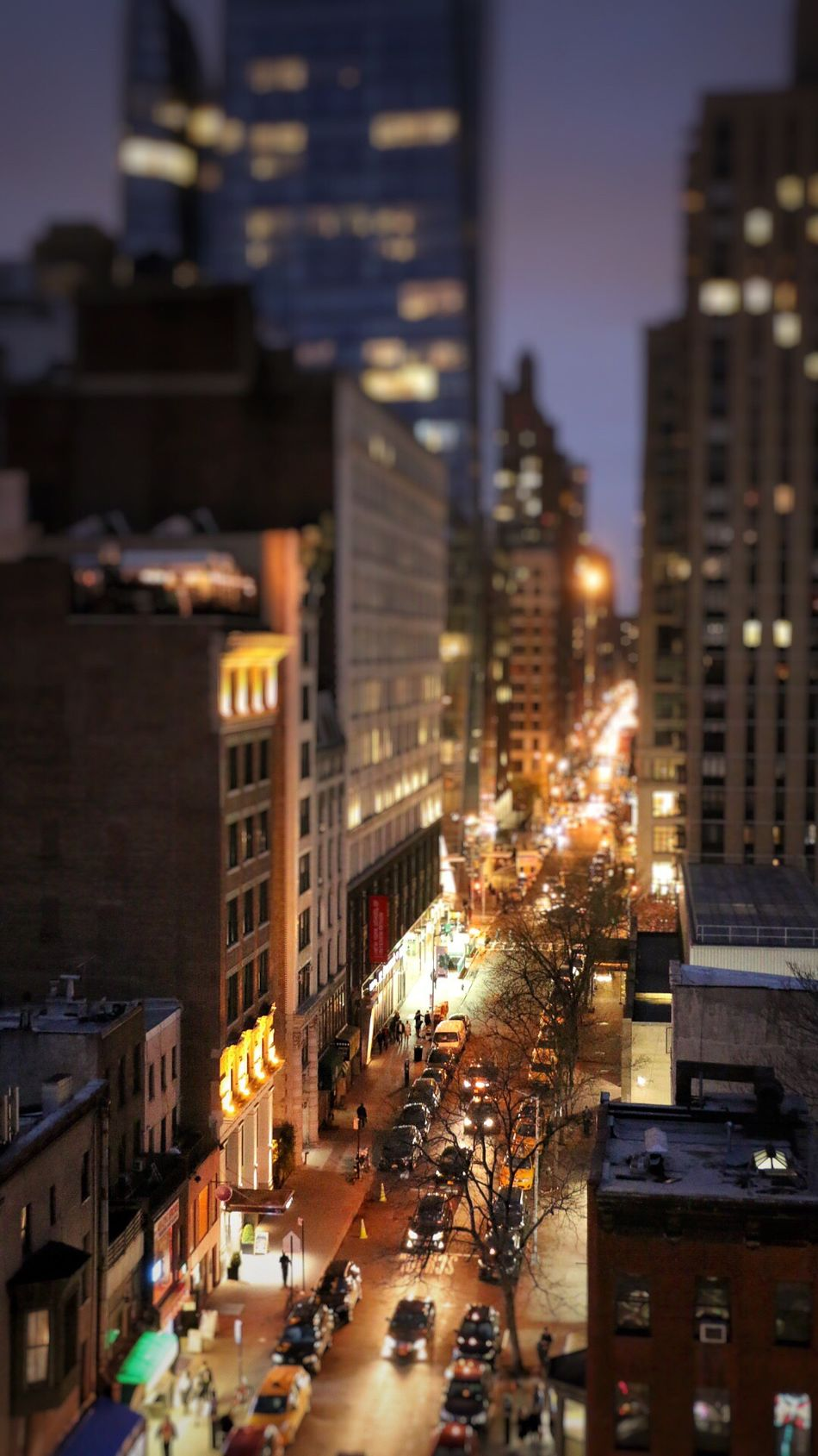 Streetphotography Miniature nyc Architecture Street Illuminated City Night Newyork New York New York City NYC Photography NYC NYC Street Photography Light And Shadow Building Exterior City Street High Angle View Street Light Popular Street Photography Travel Destinations Tourism Cityscape Skyscraper Architecture
