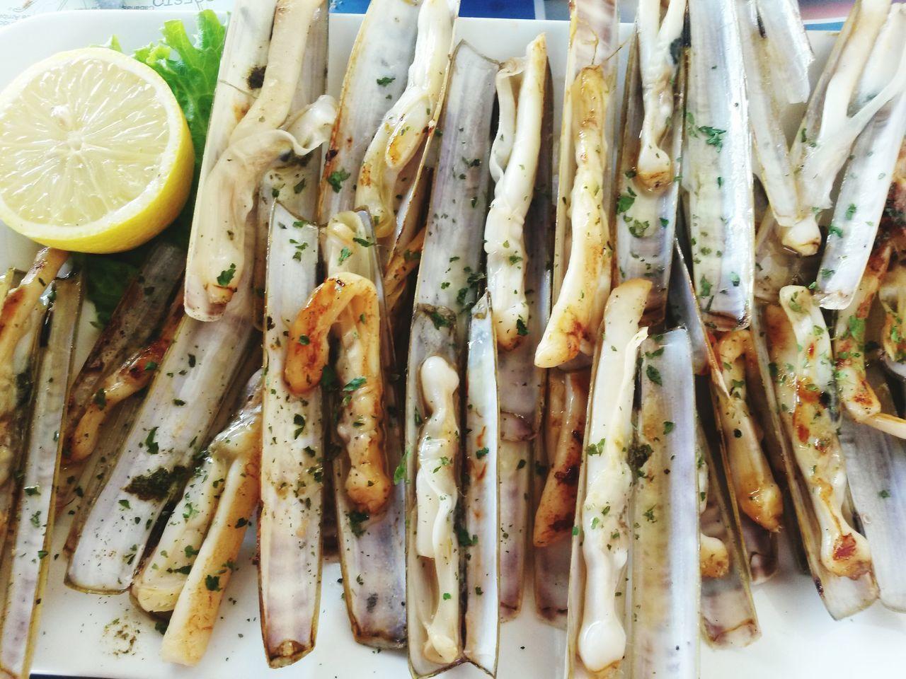 My World Of Food Navajas Galicia Galiza Galiciamagica Food Marisco