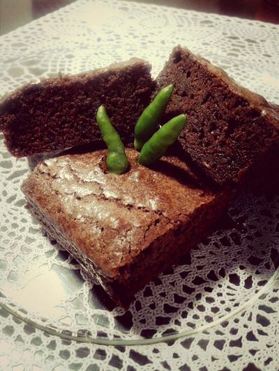 1SPICY FUDGE BROWNIE.. homework @bakeryFB group Brownie Brownies Bakery Sweet And Spicy