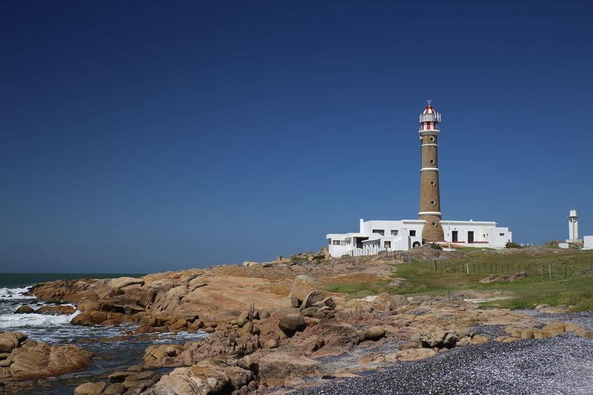 Cabo Polonio Clear Sky Coast Day Lighthouse No People Sea South America Travel Destinations Uruguay