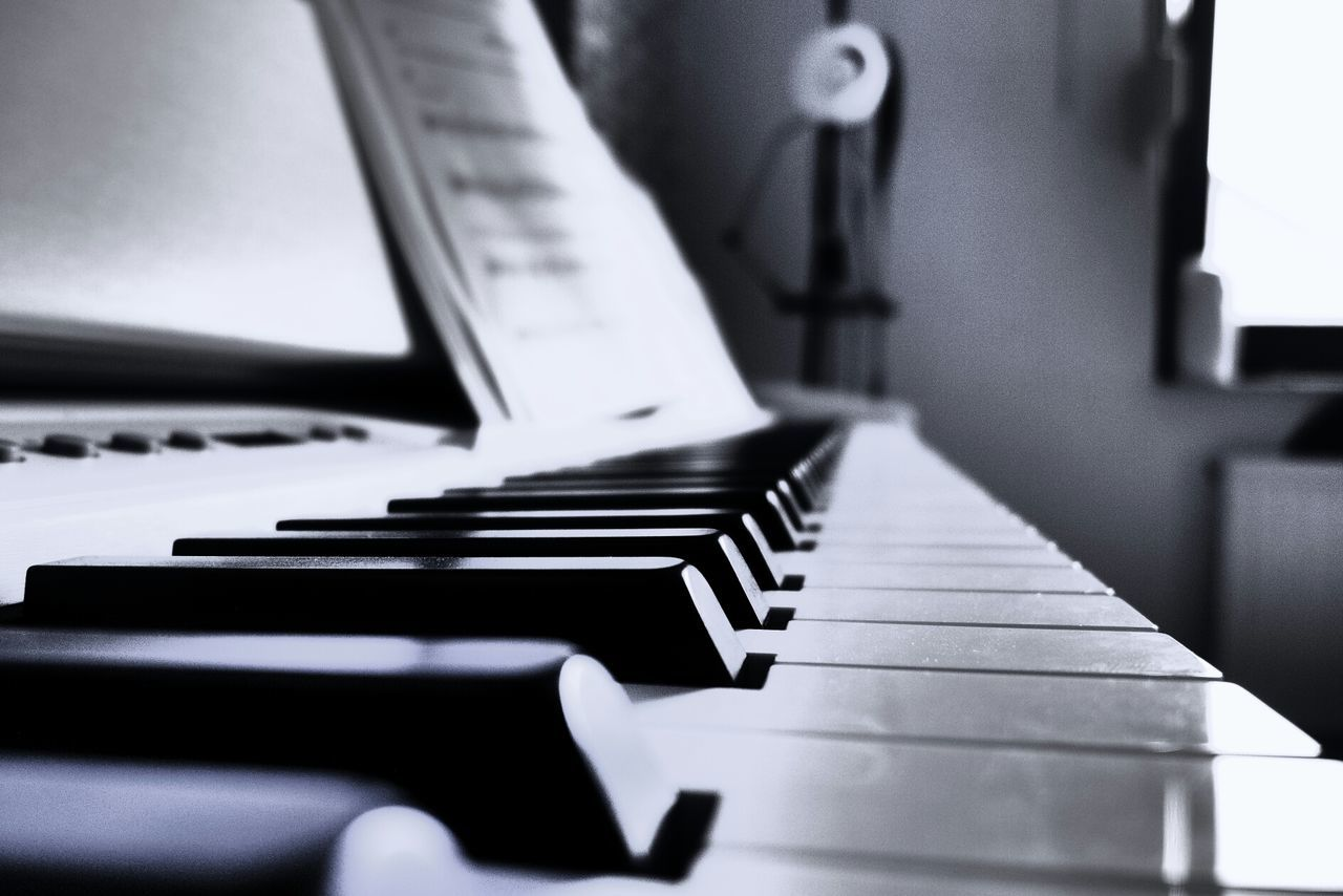 Beautiful stock photos of piano, Close-Up, Indoors, Keyboard Instrument, Music