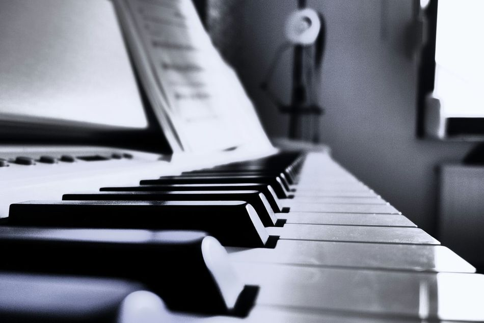 Beautiful stock photos of keyboard, Close-Up, Indoors, Keyboard Instrument, Music