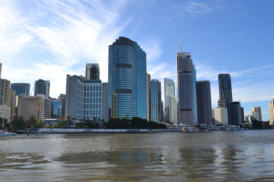Australia Brisbane Brisbane Australia Brisbane CBD Brisbane City Brisbane River Downtown District Skyscraper