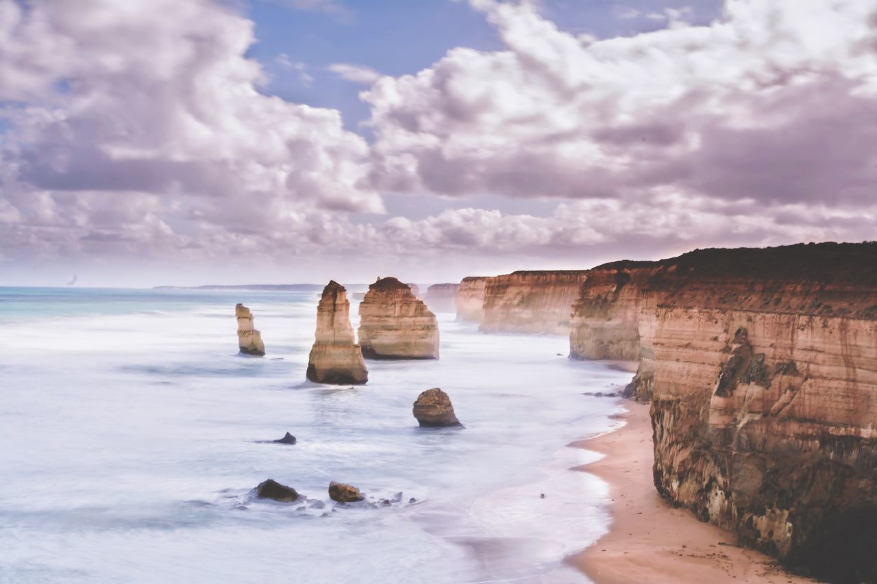 The Twelve Apostles... My Country In A Photo Australia Apostles Twelve Apostles Landscape Great Ocean Road EyeEm Best Shots EyeEm Nature Lover The Adventure Handbook EyeEm x WhiteWall: Landscapes Nature's Diversities The Great Outdoors - 2016 EyeEm Awards EyeEm X WhiteWall: Landscapes