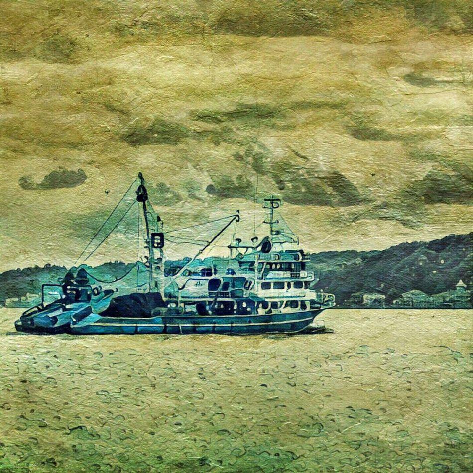 Nautical Vessel Sea No People Outdoors Day Sky