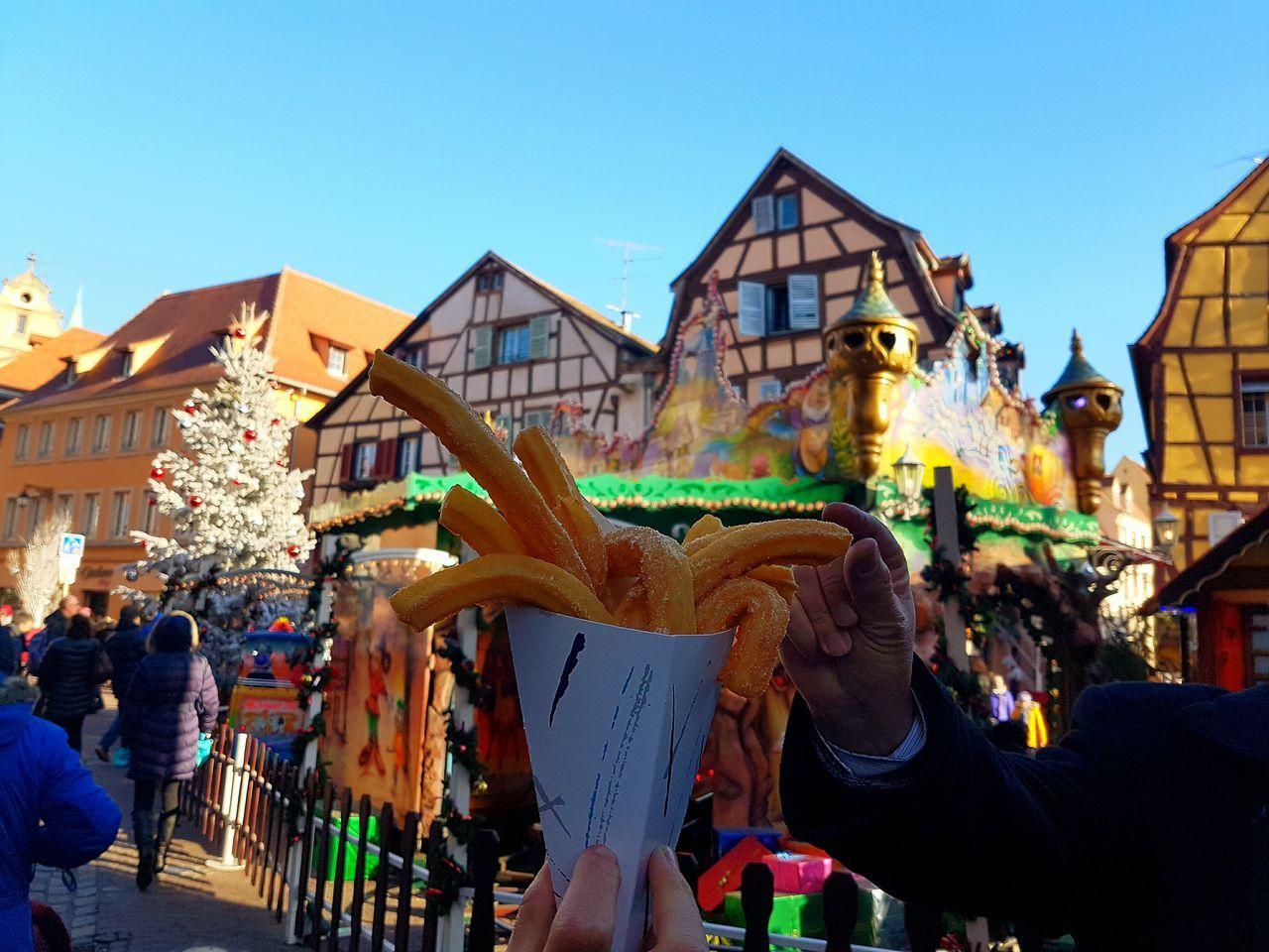 Colmar, Alsace, France Churros