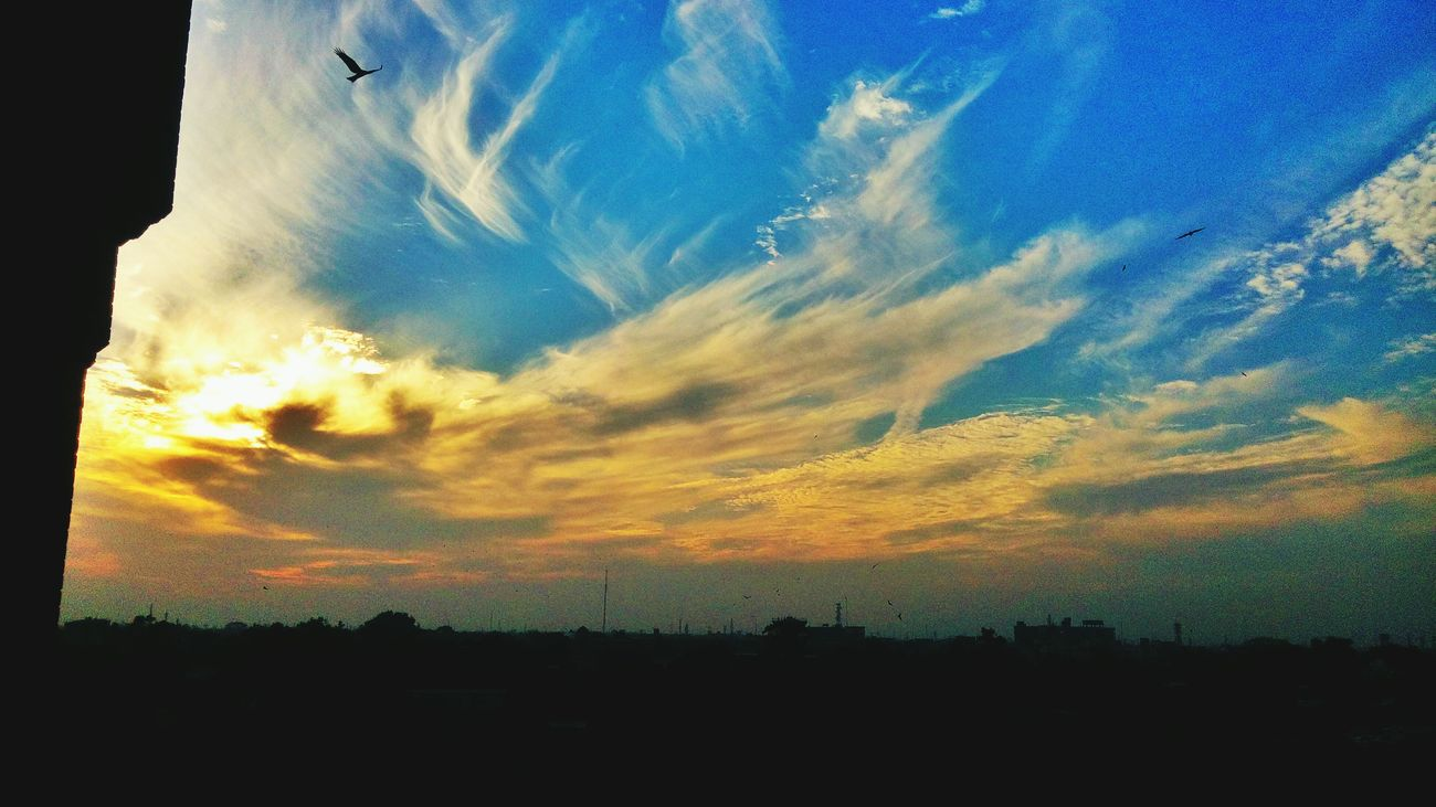 Sunset Clouds FCCollege HamzaAzizPhotography