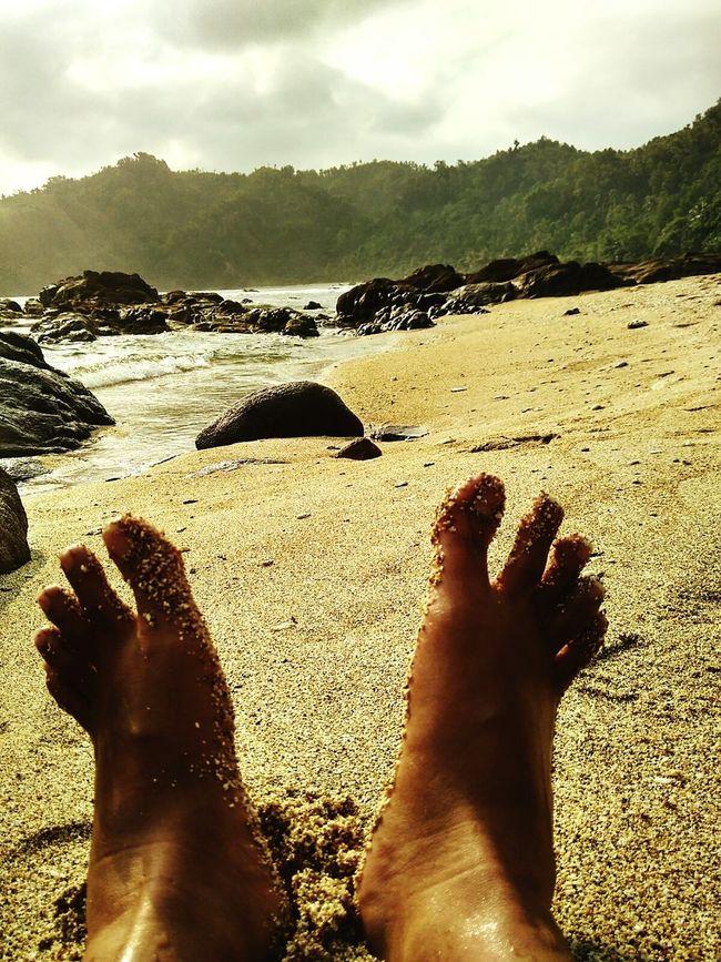 """foot on the beach"" Gunungkidul Wediombobeach Andrography Kameraponsel Kamerahp Kofipon Redmi2"