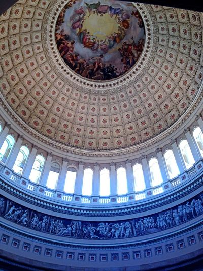 Fabustyle Inside the dome at the US Capital