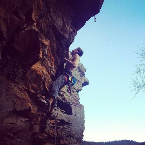 Jake, up Just Boot It 22** Climbing Verticallife