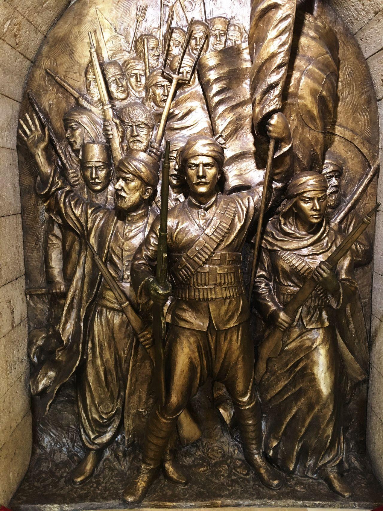 Anitkabir Mausoleum Atatürk Sculpture Relief Metal Metallic Metalwork Metal Art Metal Sculpture History Historic Independence Day Independence Turk Turkish Anatolia