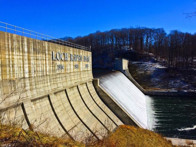 The historic Loch Raven Dam in Baltimore County, Maryland. Water_collection Water Architecture IPhoneography Iphoneonly The Architect - 2015 EyeEm Awards