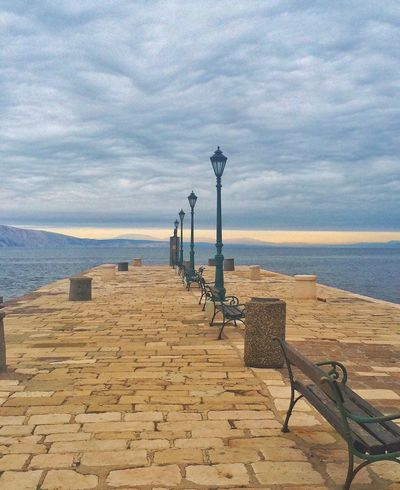 Spontaneous Trip Croatia Sea Water Nature Scenics Tranquility Sky Fishing Pole Tranquil Scene Outdoors Day Horizon Over Water Trip Port Spontaneous Ideas EyeEm Gallery EyeEmBestEdits Eyeemphotography Water_collection EyeEmNewHere Street Lights Beauty In Nature No People Morning Sky