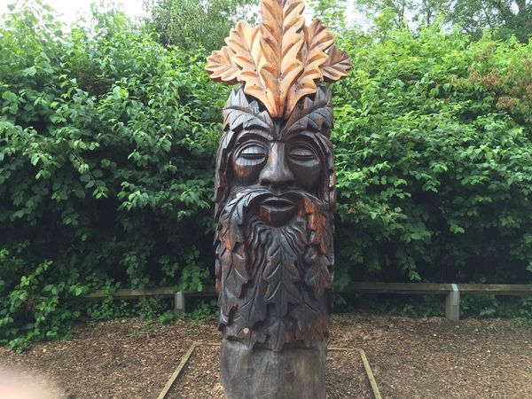 Dalby Forest Carving - Craft Product Tree Trunk Forest Totem