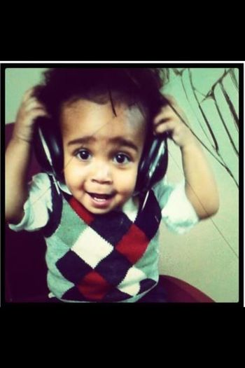 He Was Listening To My Music