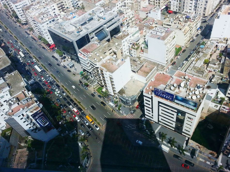 Miles Away High Angle View Building Exterior Built Structure Architecture Aerial View City Cityscape Outdoors Large Group Of People Day Urban Skyline People EyeEmNewHere Casablanca CasablancaStreets Casablanca Contratistas Casablanca Patrimoine Twins Tower The City Light Flying High