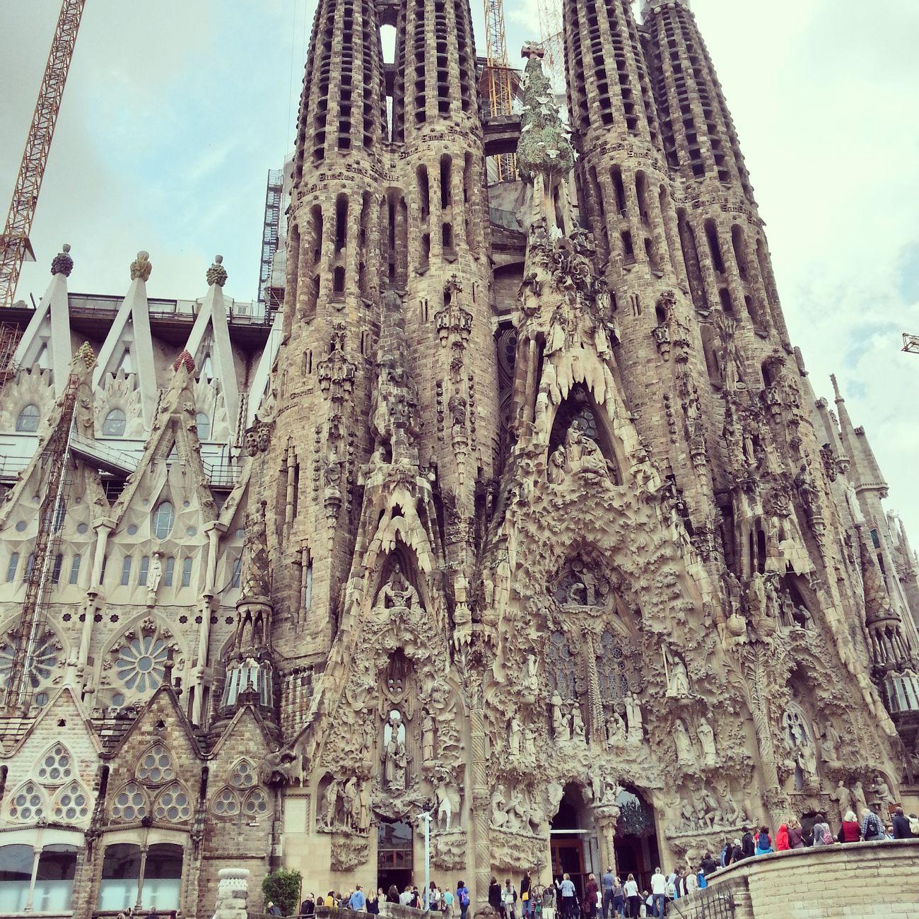 Sagrada Familia Sagradafamilia Barcelona Barcelonalove